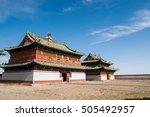 Erdene Zuu Monastery Buildings...