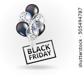 Balloons Black Friday. Black...