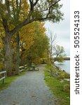 beautiful fall scenes around...   Shutterstock . vector #505524133