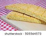homemade cornbread | Shutterstock . vector #505564573