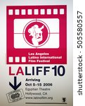 Small photo of LALIFF screening of 'Chagas: A Hidden Affliction' held at the Egyptian Arena Theatre in Hollywood, USA on October 7, 2006.