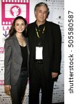 Small photo of Mia Maestro and director Ricardo Preve at the LALIFF screening of 'Chagas: A Hidden Affliction' held at the Egyptian Arena Theatre in Hollywood, USA on October 7, 2006.