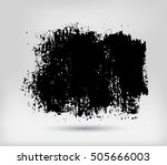 grunge banner.vector template. | Shutterstock .eps vector #505666003