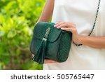 woman hands with luxury... | Shutterstock . vector #505765447