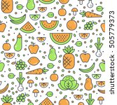 Colorful Vector Seamless...