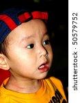 asian baby boy   surprise... | Shutterstock . vector #50579752