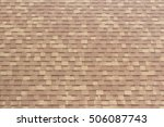 The Texture Of Tiles Roof