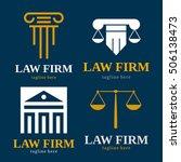 law firm judge logo icon
