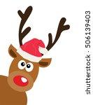 vector illustration of a funny... | Shutterstock .eps vector #506139403
