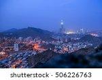 a view of mecca landmark the... | Shutterstock . vector #506226763