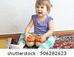 Little Child Girl Smiling...