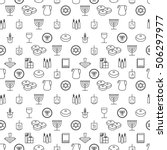 hanukkah seamless pattern. ...   Shutterstock .eps vector #506297977