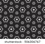 black and white color. abstract ... | Shutterstock .eps vector #506306767