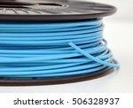 3d printing filament spool | Shutterstock . vector #506328937