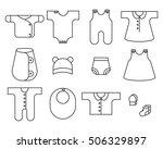 children's wear. big file | Shutterstock .eps vector #506329897