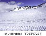 japan alps murodo tateyama snow ... | Shutterstock . vector #506347237
