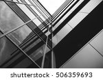reflection of the building | Shutterstock . vector #506359693