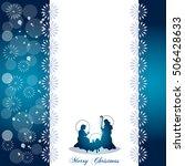 christmas greetings card | Shutterstock .eps vector #506428633