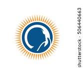 child care logo | Shutterstock .eps vector #506440663