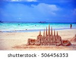 boracay  philippines   october... | Shutterstock . vector #506456353