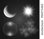 Smoke  Moon  Soap Bubble  Ligh...
