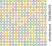 abstract circle background.... | Shutterstock .eps vector #506586103