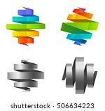 rainbow spiral | Shutterstock .eps vector #506634223