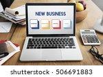 start up business strategy... | Shutterstock . vector #506691883