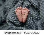 newborn baby feet | Shutterstock . vector #506700037