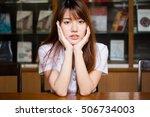 portrait of thai adult student... | Shutterstock . vector #506734003