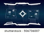 abstract future  concept vector ... | Shutterstock .eps vector #506736007