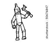 Tin Man Cartoon