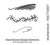 vector design element ... | Shutterstock .eps vector #506772007