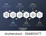 infographic design template... | Shutterstock .eps vector #506803477