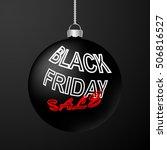 black friday sale inscription... | Shutterstock .eps vector #506816527