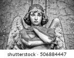 Portrait Of Loving Angel On...