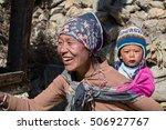 himalayas  annapurna region ... | Shutterstock . vector #506927767