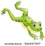 vector illustration of cute... | Shutterstock .eps vector #506947597