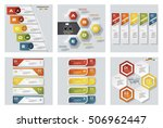collection of 6 design colorful ...   Shutterstock .eps vector #506962447