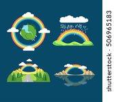 Rainbow Icon Flat. Lgbt Concep...
