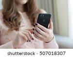 alushta  russia   october 28 ... | Shutterstock . vector #507018307