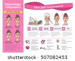 vector illustrated set with... | Shutterstock .eps vector #507082453