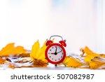 Vintage Alarm Clock With Maple...