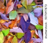 purple green background... | Shutterstock .eps vector #507097873