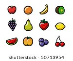 a set of cute and colorful... | Shutterstock .eps vector #50713954