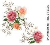 illustration of beautiful... | Shutterstock . vector #507141103