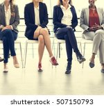 businesswomen teamwork together ... | Shutterstock . vector #507150793
