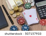 casino concept with accessories | Shutterstock . vector #507157933