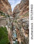 Small photo of Caminito del Rey, Ardales, Malaga. Hiking area and multisport