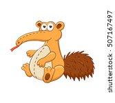 Cute Cartoon Animal. Stuffed...